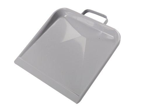 Stofblik metaal grijs