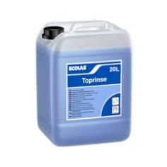 Flasche 20kg Toprinse flüssig Klarspüler Industriespülmaschinen>weiches Wasser