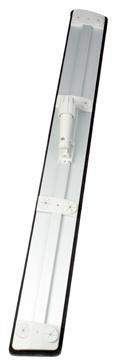 Stofwisdoekhouder aluminium 96cm