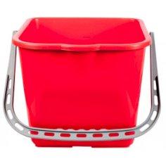 Eimer Italienisch 15 liter rot für Rolleimer