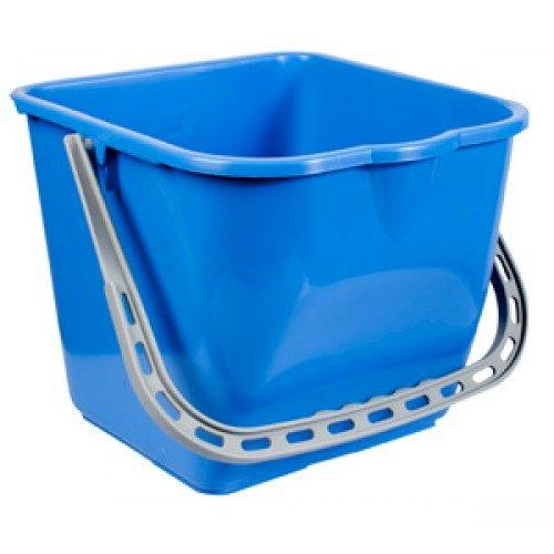 Emmer italiaans 15 liter blauw tbv rolemmers