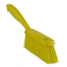 Handborstel Vikan medium geel