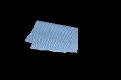Werkdoek 38x60 blauw 45grs
