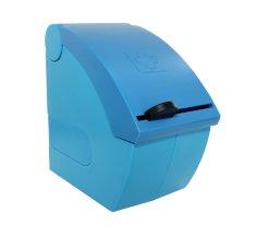 Pleisterdispenser Snogg Easy Soft blauw tbv lijmloze pleisters (leeg)