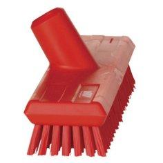 Balai-brosse 270x105mm dur Vikan rouge