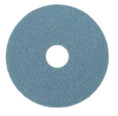 2 Bodenpads 51 cm, 20 Zoll, blau Taski Twister HT (High Traffic)