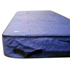 Matratzenhülle Stoff, 225 x 100 x 30 cm blau Matratze für 1 Person