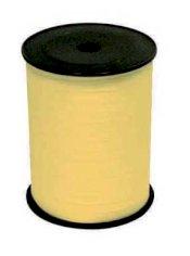 Krullint 10mmx250mtr paperlook geel nr.32