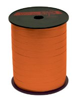 Krullint 10mmx250mtr paperlook oranje nr.31