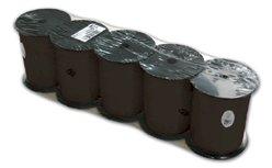 Krullint 10mmx250mtr zwart nr.10