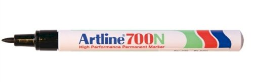 Viltstift Artline 700 ronde punt 0.7mm zwart