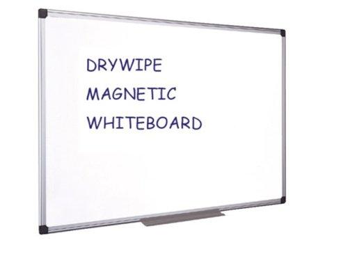 Magnetisch whiteboard metaal 120x90cm gelakt