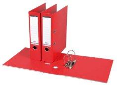 Ordner PP A4 rug 80mm rood