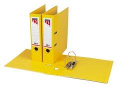 Ordner PP A4 rug 80mm geel