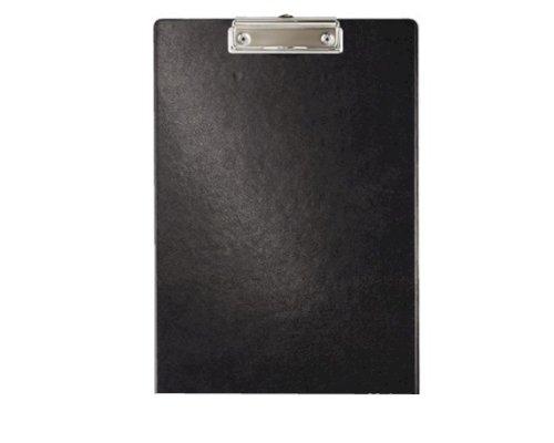 Klembord PP met klem 34x22cm zwart, klemt tot 100 vellen