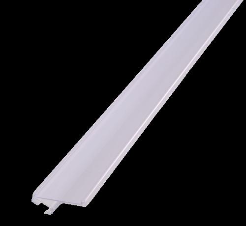 Plankstrip Wanzl draadschap 1229m transparant met nailgrip