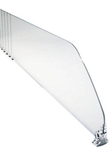 Schapverdeler 485x120mm transparant, afbreekbaar tot 285mm