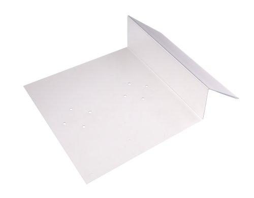 Broodbarker PVC 1mm lengte 210mm transparant inclusief tie wraps 3x gebogen