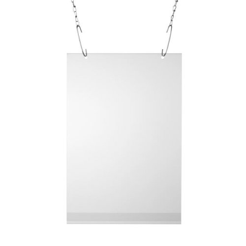 Posterhoes 700x1000mm transparant inclusief ogen P1