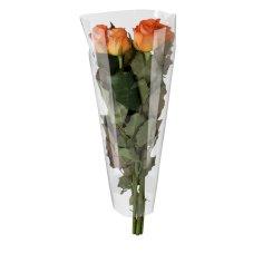 Sac à fleurs OPP 50x30x10cm bloc par 50 pièces 40my transparent