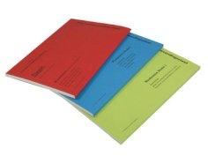 Semainiers sur bloc A4 rouge 29,7x21(24,3)cm, 50x2 feuilles