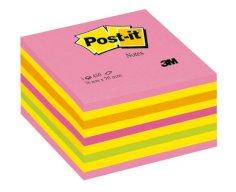 Würfelblock 76 x 76 mm, 450 Blatt, neonfarben