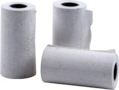 50 Geldautomatenpapierrolle Thermopap. 57 mm x 25 m Durchm. 47 mm Kern: 12 mm für Bezahlgerät Vx750
