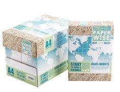 Kopieerpapier A4 75grs landbouwafval, wit, PaperWise