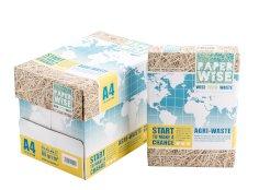 Kopieerpapier A4 80grs landbouwafval, wit, PaperWise